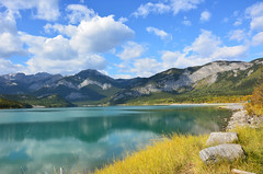Lake in Rockies (Caulker) Tags: canada rockymountains september 2014