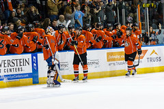 "Missouri Mavericks vs. Wichita Thunder, February 3, 2017, Silverstein Eye Centers Arena, Independence, Missouri.  Photo: John Howe / Howe Creative Photography • <a style=""font-size:0.8em;"" href=""http://www.flickr.com/photos/134016632@N02/32561324812/"" target=""_blank"">View on Flickr</a>"
