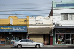Tailor (martyr_67) Tags: highstreet northcote tailor melbourne