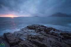 Elgol Sunset (James G Photography) Tags: uploadedviaflickrqcom elgol isleofskye skye sunset coast coastal drama clouds stormy longexposure innerhebrides landscape scotland sea seascape water unitedkingdom gb