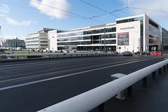 LUAS TRAM BRIDGE [ SPENCER DOCK ]-125156 (infomatique) Tags: dublindocklands luastram bridge spencerdock infomatique williammurphy transport publictransport futuresystems architects royalcanal ccd conventioncentre
