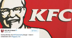 KFC's Got a Bone to Pick With 'Clean Eaters' And They Tweeted Out One Fire-Starter of a Parody to Kick Things Off (Chikkenburger) Tags: memebase memes art trolling pranks tricks lies aot internet troll cheezburger chikkenburger