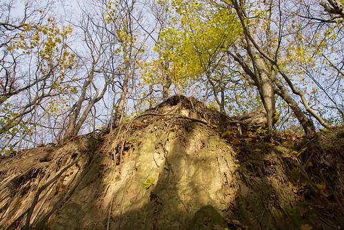 Wąwóz Królowej Jadwigi w Sandomierzu jesienią # 8