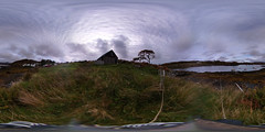 At Badachro (ShinyPhotoScotland) Tags: existentialist zen nature flora building memories scotland places coast rockwater grass photography lines emotion camera seaweed calm composite badachro lightanddark water contentment timhaynes hdr equipment westcoast intimatelandscape lochshore skyearth enfuse shapeandform relaxed trees manipulated highlands tranquil people lg360cam vista contrasts landwater affection rural art panorama moment named light idyll landscape mankindnature nearfar sea dulllight westerross timelessness vintage 360degreepanorama unitedkingdom gbr