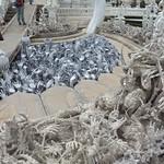 Darstellung der Unterwelt, Weißer Tempel, Chiang Rai