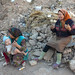 Women And Kid In The Rubbles Old Town Of Kashgar Xinjiang Uyghur Autonomous Region China