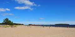 Pite havsbad, beach volley area (GeirB,) Tags: sea beach strand geotagged fun cool sweden sverige gps gp1 pite havsbad bottenviken