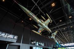 Cold War fighter aircraft (PJAG83) Tags: aircraft fujifilm lockheedmartin soesterberg aircraftmuseum militarymuseum fighteraircraft xt10 f104starfighter nationaalmilitairmuseum samyang12mmf20ncscs fujifilmxt10