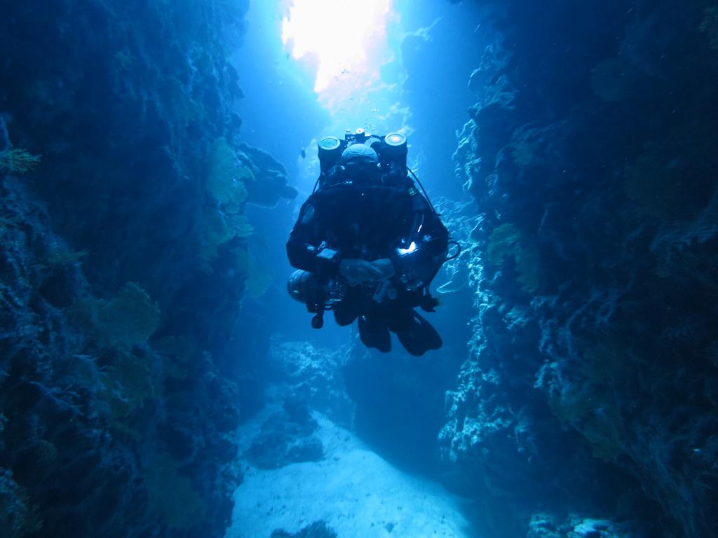 Tri Mix Scuba Diving : Technical diving sinai blues