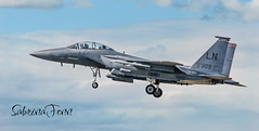 Lakenheath (sabrinafennphotography) Tags: sky nikon outdoor aircraft jet landing d750 usaf pilot usaflakenheath