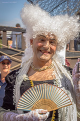Lady in waiting (in explore) (farflungistan) Tags: madame portrait holland netherlands amsterdam nederland tallships ij ijmeer sailamsterdam sail2015