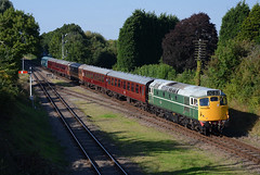 D5401 Quorn & Woodhouse (Lorenzo's Modern Traction) Tags: autumn diesel great central railway class 45 27 gala woodhouse loughborough quorn swithland 27056 45041 d5401 2c37