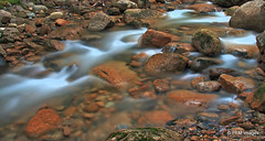 Sabbaday Brook Trail (pandt) Tags: new mountains water landscape rocks stream long exposure outdoor newengland whitemountains valley waterville brook hdr sabbaday hampshite