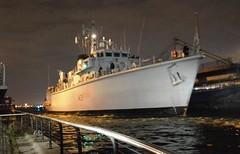 HMS Hurworth M39 (6) @ London's Royal Docks 12-09-15 (AJBC_1) Tags: night military nighttime cityatnight warship royalvictoriadock minesweeper eastlondon rn shipsatnight royalnavy mcv nikond3200 newham 2015 dsei royaldocks m39 excelexhibitioncentre militaryvessel navalvessel londonboroughofnewham hmshurworth minehunter londonexcelcentre huntclass minecountermeasuresvessel dlrblog londonsroyaldocks ajc shipsinpictures