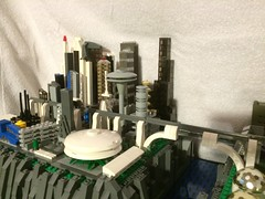 Microscale LEGO Space - Urantia City