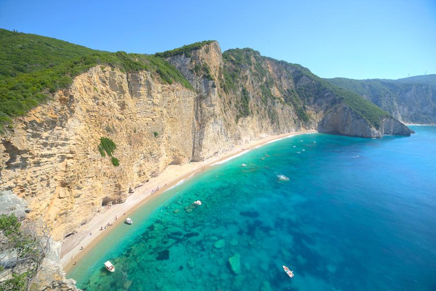 Liapades Beach Hotel Corfu Island