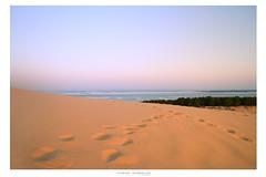 Dune de Pilat 2/3 (lehmuellerflorian) Tags: blue sea sky france art water sunrise de landscape photography sand heaven dune fine florian pea peacefull pilat lehmueller