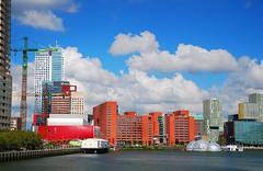 A day in Rotterdam (neil mp) Tags: cloud port waterfront deloitte quayside maasriver rijnhaven floatingpavilion dampartners newmeuse maastoren odiledecqbenoitcornette