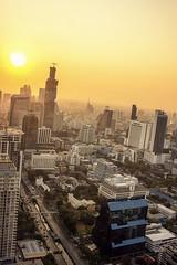 Bangkok View Baiyoke Tower II 2 (tole_glock) Tags: thailand bangkok banyantreehotel bangkokview bangkoksunset