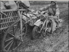 """a motorcycle BMW R-12 of SS Division """"Das Reich"""" • <a style=""""font-size:0.8em;"""" href=""""http://www.flickr.com/photos/81723459@N04/21977780569/"""" target=""""_blank"""">View on Flickr</a>"""