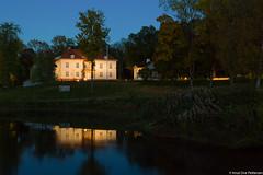 Reflected in Andelva (Knut Ove Pettersen) Tags: reflection building architecture river twilight bluehour bltimen skumring bltime eidsvollsbygningen andelva eidsvollverk houseofconstitution