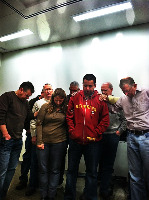 RBC - Staff Praying w Missionaries