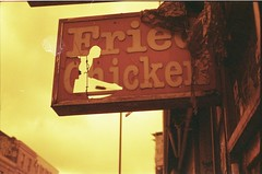 Free Licker. (.makowski) Tags: london film home analog 35mm canon diy ae1 process processed redscale ae1programm