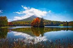 Sharp Top (Michael Kline) Tags: autumn mountain color virginia otter peaks blueridgeparkway