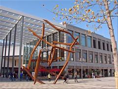 Hanau Freiheitsplatz 2015 - Moritz und das tanzende Bild