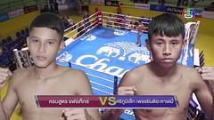 ศึกมวยไทยลุมพินีเกริกไกร ล่าสุด 3/3 18 ตุลาคม 2558 ย้อนหลัง Muaythai HD