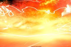 Solar Flare (Fredrik Lindedal) Tags: light sun art texture nikon exposure experiment flare sunstorm solarflare