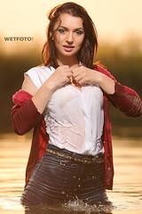 Nice Girl in wet super skinny jeans (Wetlook with WetFoto.com) Tags: get wet girl swim skinny clothing nice mud tshirt super tights sneakers jeans messy getwet pantyhose soaked wetlook underjeans wetfoto