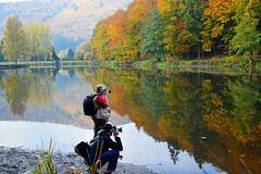 Chasseurs d'images en action (Croc'odile67) Tags: autumn nature automne landscape nikon reflet alsace paysage reflexion d3200 vosgesdunord afsdx18105