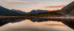 DSC-1135 (gnowkra7) Tags: canada reflection sunrise rockies alberta banff banffnationalpark vermillionlake
