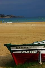 old fisherboat (GEO_Matt) Tags: barcelona holiday beach strand spain tourist salou 2015 mittelmeer