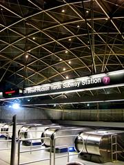 34th Street – Hudson Yards Subway Station (wyliepoon) Tags: street yards station underground metro manhattan transit mta hudson 34th 7train newyorkcitysubway