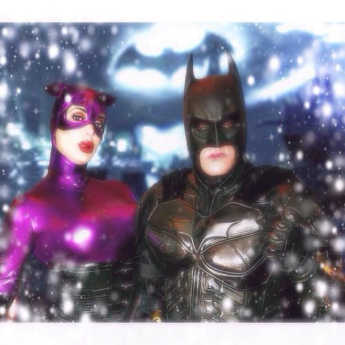 Confirm. batman catwoman christmas thanks