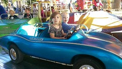 """Paul and Inde Ride in a Car at Sonny Acres • <a style=""""font-size:0.8em;"""" href=""""http://www.flickr.com/photos/109120354@N07/23224649065/"""" target=""""_blank"""">View on Flickr</a>"""