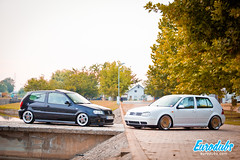 "MK4 & Polo 6N2 • <a style=""font-size:0.8em;"" href=""http://www.flickr.com/photos/54523206@N03/23306759156/"" target=""_blank"">View on Flickr</a>"