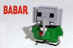 Babar (totopremier) Tags: elephant lego babar blockhead
