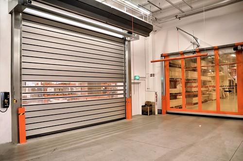Швидкі енергоефективні ворота. Высокоскоростные ворота. Hi speed doors. Efaflex. BAUHAUS_DSC_0017