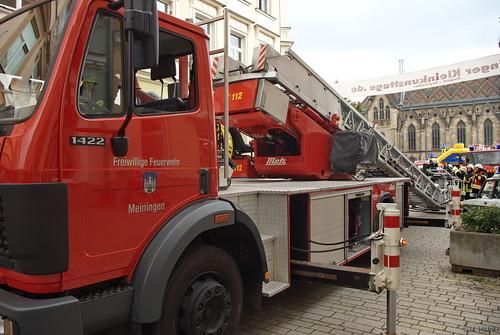 1992 Drehleiter (DLK 23-12) Mercedes-Benz 1422F Freiwillige Feuerwehr Meinigen