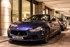 GB (Borehamwood) - Maserati Ghibli 2013 (PrincepsLS) Tags: uk gb british license plate lk borehamwood germany berlin spotting maserati ghibli 2013