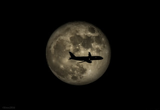 Moon and Airbus