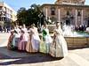 6 Op 'n rij . (Franc Le Blanc .) Tags: panasonic lumix spain spanje valencia women dancers