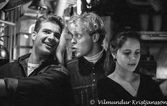 m02bw 051(3047) 024 vk (Villi Kristjans) Tags: vilmundur vk villi vkphoto v600 bw blackandwhite blackwhite black negative mono mamiya monochrome kristjansson kristjans kristjáns kristjánsson iceland ísland island old indoor analog suðurland south southland reykjavik reykjavík 35mm epson white young party people film group zm quartz cafe café strætó straeto hugmynd photoclub