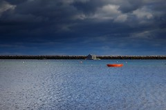 The Red Boat (Akromac) Tags: provincetown capecod usa boat coast canon 5dmark3 ef2470mmf4lis