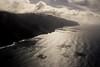 Copy of Kauai b&w17 (chiarina2016) Tags: kauai hawaii island beach monotone blackandwhite chiarinaloggia stormyseas waves trails hiking surf napali napalicoast helicopterride