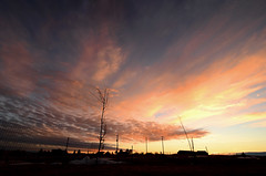Sunset @ 4:51PM (northern_nights) Tags: cloudsstormssunsetssunrises 100v10f sunset dusk clouds colorful sky cheyenne wyoming tokina1116mmf28 nikond7000
