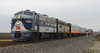 #974 Santa Train at Acom Road (HighHor$epower) Tags: wab1189 ns974 acomroad illiopoliscp nssantatrain wabash f7 f7a gmd funit